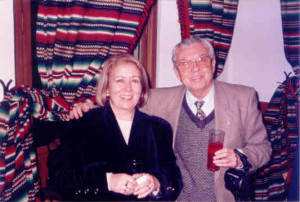 Jacinto López Gorgé y Encarna León. Granada. Enero, 1998