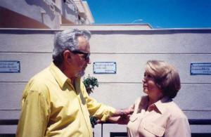 Con Juan Guerrero Zamora. 2000
