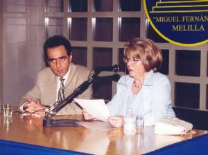 Con José Lupiáñez. 2000
