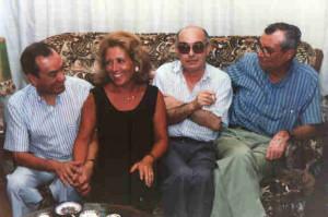 Pío Gómez Nisa, Miguel Fernández y Jacinto López Gorgé.