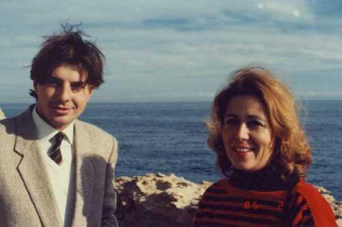 Junto a Fernando de Villena. 1985