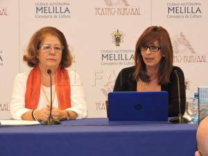 Encarna León, Fadela Mohatar.